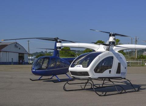 Multi-rotor aircraft image