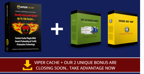 >> Get Instant Access to ViperCache Bonus Today