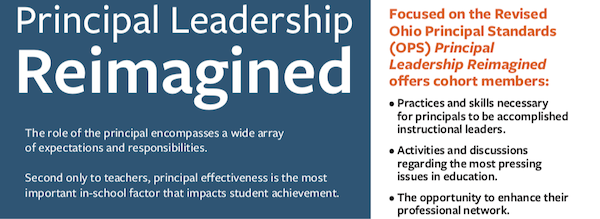 graphic: Principal Leadership Reimagined