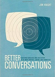 Graphic: Better Conversations book cover