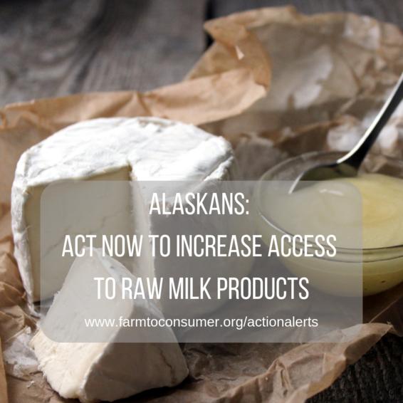 Alaska Raw Milk Products