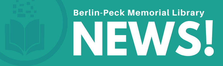 Berlin-Peck Memorial Library • News!