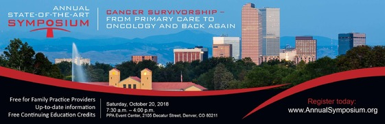 Cancer Survivorship Symposium: Free CME