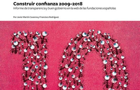 Construir Confianza 2018: X Informe de transparencia y buen gobierno en la web de las fundaciones españolas